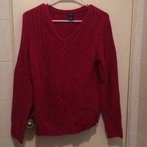 Izod Red sweater